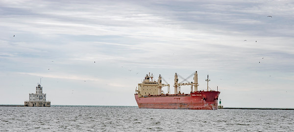 Cargo Arriving Port of Milwaukee May 2019