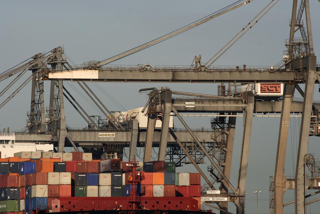 Crane at Southampton Container Terminals (SCT)