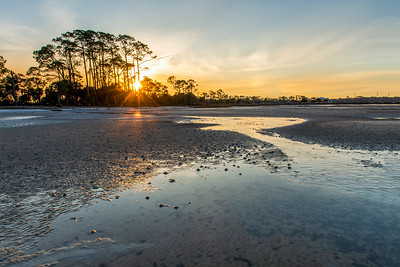 Sunrise on the Beach in Port St. Joe