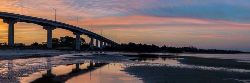Sunrise in Port St. Joe