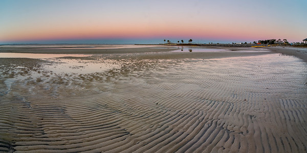 Port St. Joe Low Tide Sunrise 2x1