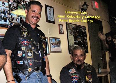 Welcome Juan Roberto and Carrasco
