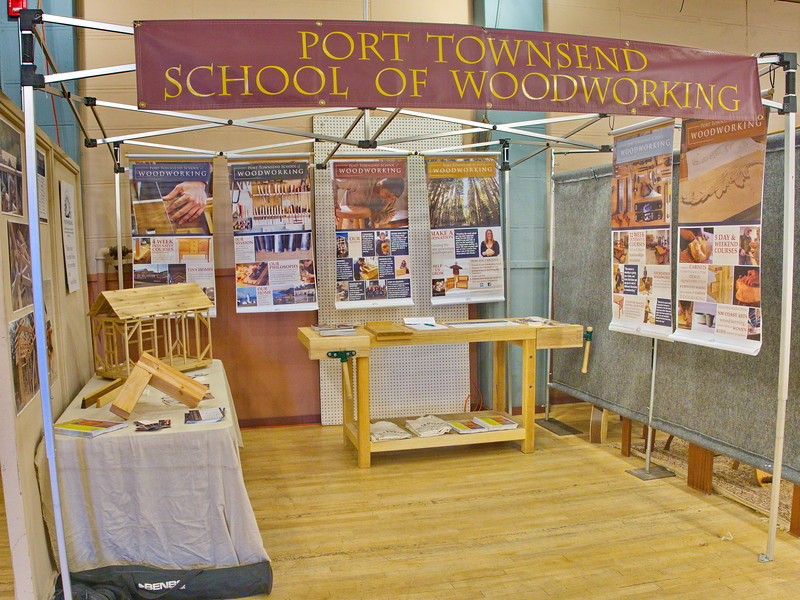 Port Townsend School og Woodworking Booth
