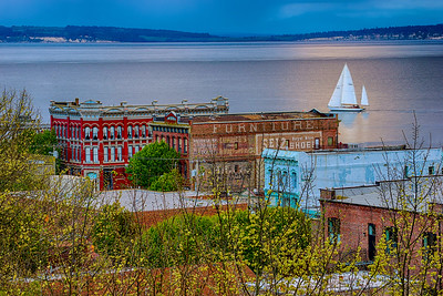 20.     Evening Sailboat Port Townsend