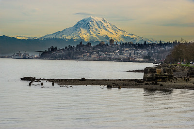 24.     Mount Rainier from Ruston Way Tacoma