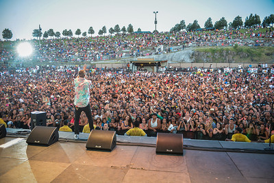 Macklemore Hosts KUBE 93.3 Summer Jam at the Gorge, Quincy, WA (Matthew Lamb)
