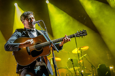 Marcus Mumford performs at the Sasquatch Music Festival 2013. (Matthew Lamb)