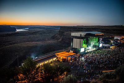 John Mayer at the Gorge July 20th, 2013. (Matthew Lamb/LiveNationPNW)