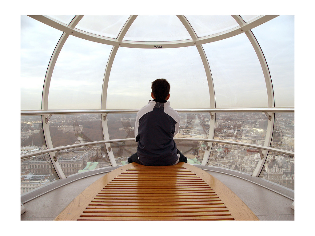"""Tranquillity in a Pod"", London Eye 23rd December 2005"