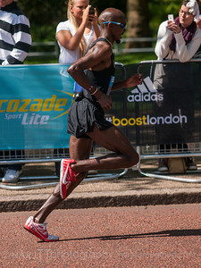 Bupa 10k run London 2013