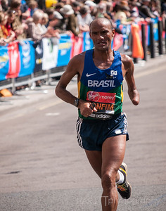 London Marathon 2013 Bonfim of Brazil