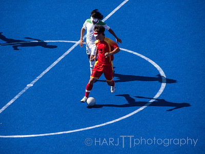 Mens Blind Soccer Semi-Final - Iran vs China Paralympics London 2012 Games.  Olympus E3