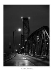 The Steel Bridge - Portland Oregon Jan 2005
