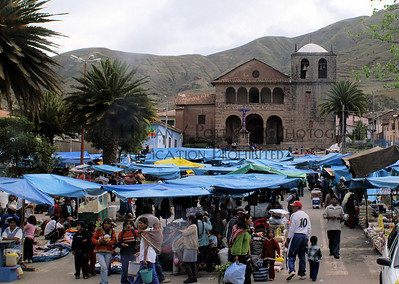 Sunday Market in the Sacred Valley Peru
