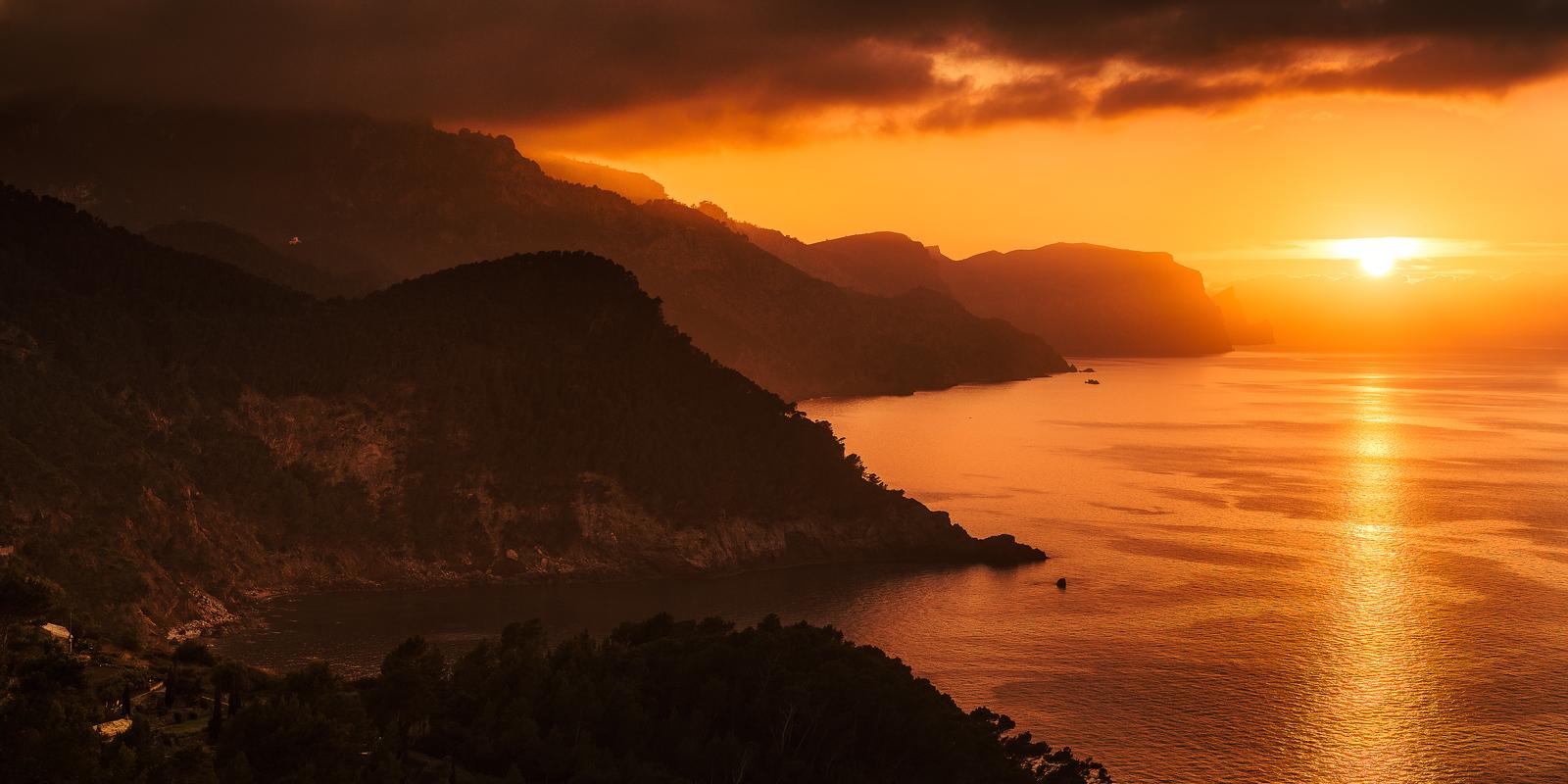 West side Mallorca sunset