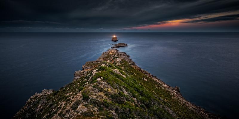 Dramatic light over El Toro in Mallorca