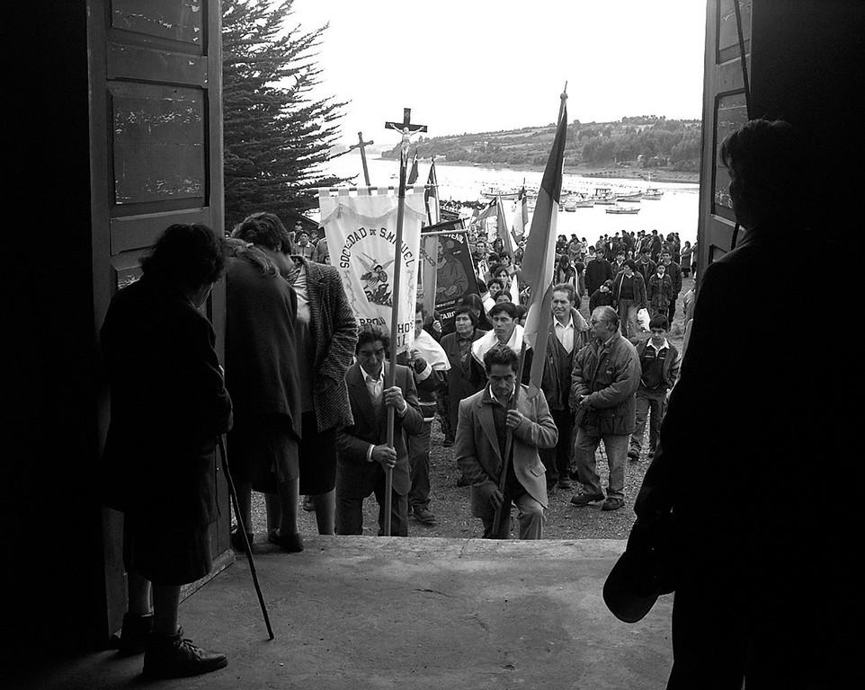 Fiesta religiosa en Isla Puluqui