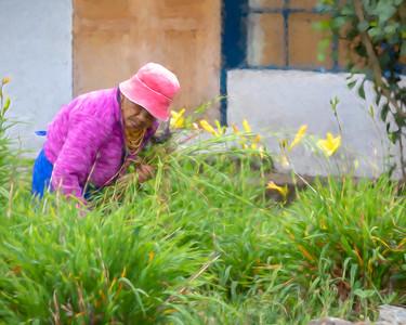 Gathering Flowers