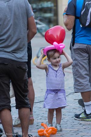 Balloons, Sarlat, France, 2012