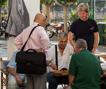 Backgammon, Athens, Greece, 2012