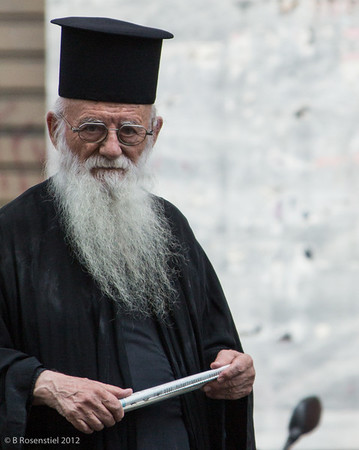 Cleric, Athens, Greece, 2012