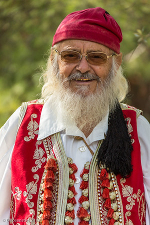Kris Kringle, Athens, Greece, 2012