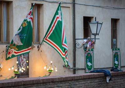 Oca Contrade, Siena, Tuscany, Italy