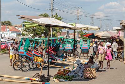 Main Street, Mahajanga, Madagascar