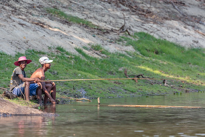 Fishing, Ankarafantsika National Park, Madagascar