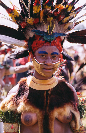 Young Woman, Hagen Show, Papua New Guinea, 2003