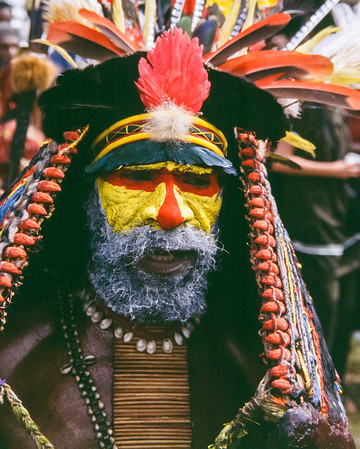 Yellow-face, Hagen Show, Papua New Guinea, 2003