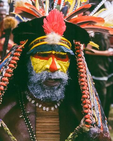 Yellow-face, Hagen Show, Papua New Guinea, 2003