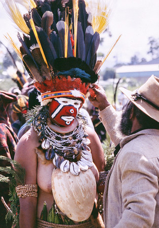 Last Minute Adjustment, Hagen Show, Papua New Guinea, 2003