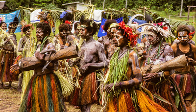 Mother's Day Celebration, Karawari, Papua New Guinea, 2003