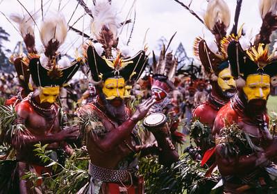 Wigmen, Hagen Show, Papua New Guinea, 2003