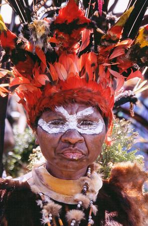 Astrapia Woman, Hagen Show, Papua New Guinea, 2003