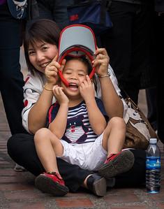 Parade Spectators I, Flower Festival