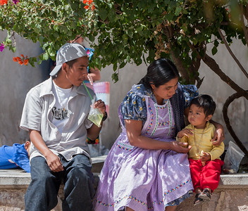 Mothers, Sunday Market, Tlacolula, Mexico, 2006