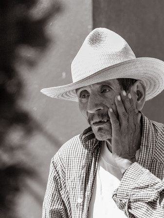 Old Man, Friday Market, Ocotlan, Mexico, 2006