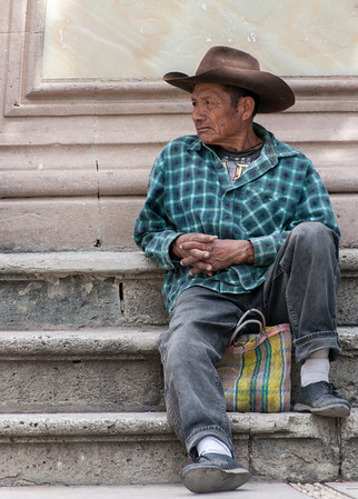 Resting, Friday Market, Ocotlan, Mexico, 2006