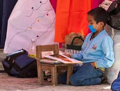 Reading, Friday Market, Ocotlan, Mexico, 2006