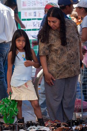 Dangerous, Sunday Market, Tlacolula, Mexico, 2006