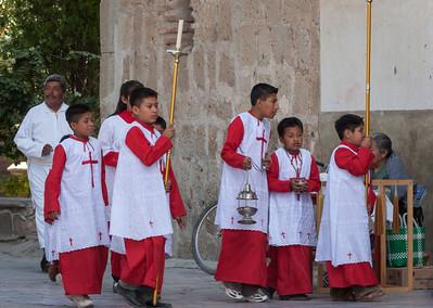 Procession, Sunday Market, Tlacolula, Mexico, 2006