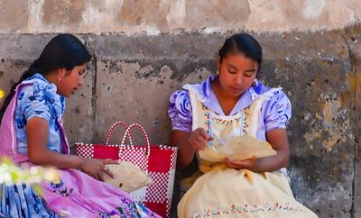 Picnic, Sunday Market, Tlacolula, Mexico, 2006