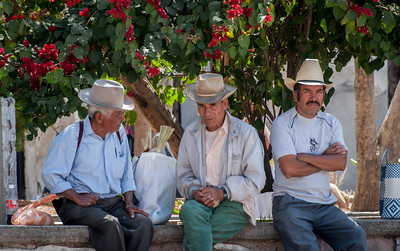 Hats, Sunday Market, Tlacolula, Mexico, 2005