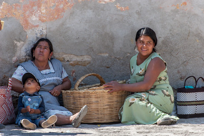 Basket Family, Sunday Market, Tlacolula, Mexico, 2005