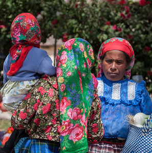 Scarves, Sunday Market, Tlacolula, Mexico, 2006
