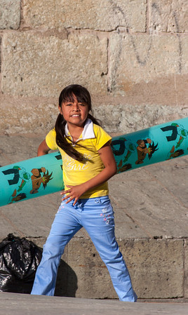 Fun with Balloons, Oaxaca, Mexico, 2006