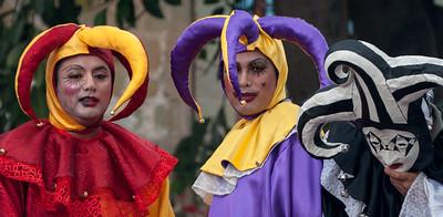 Jesters, Oaxaca, Mexico, 2006