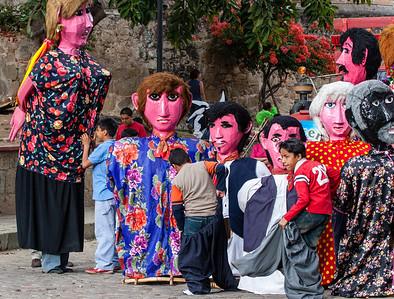 Gigantes, Carnival, Oaxaca, Mexico, 2006